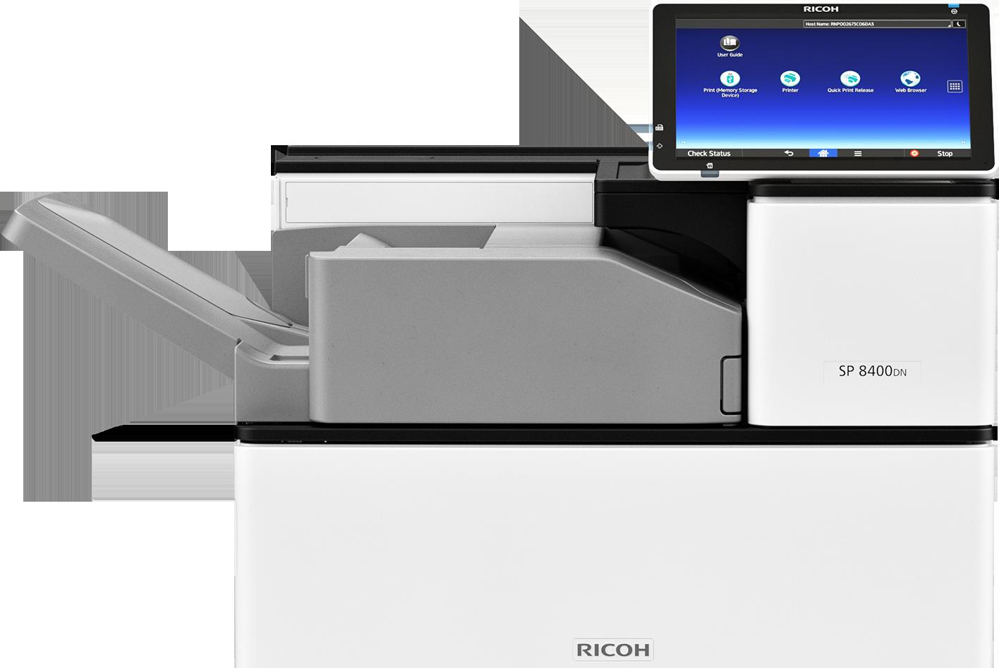 impresora blanco y negro sp 8400