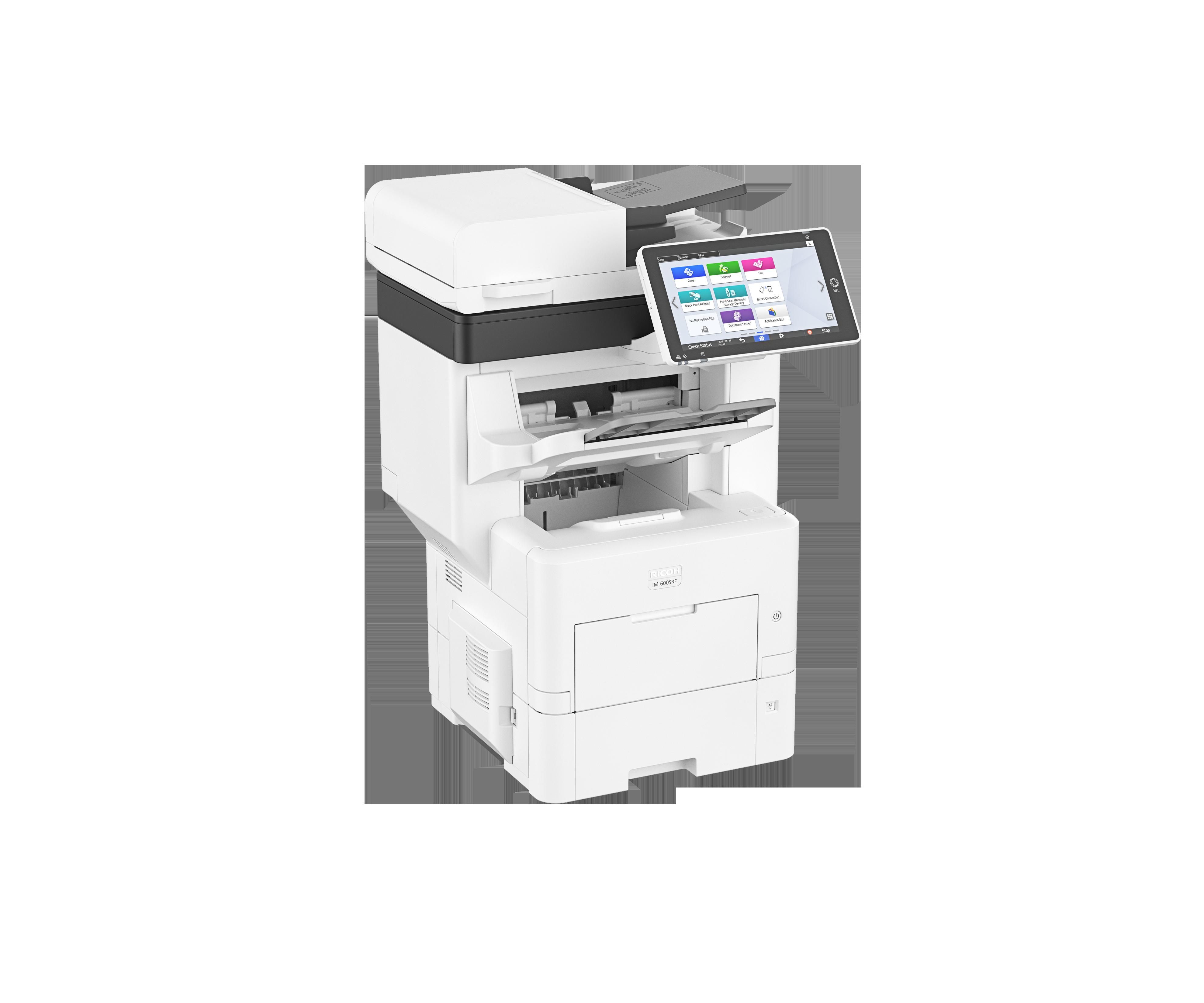 impresora blanco y negro p 802